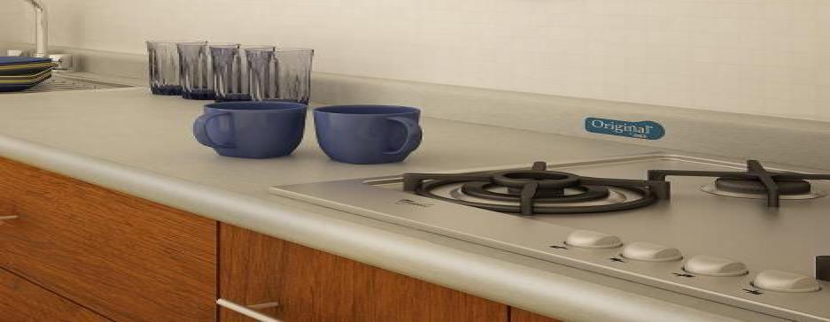Cocina con Cubierta Original